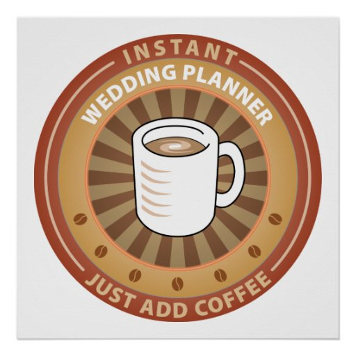 Instant Wedding Planner Poster