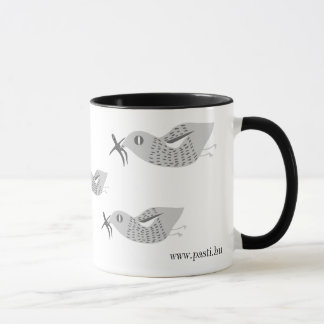 Instead of a stork... mug