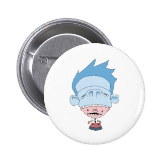 instinct 2 inch round button