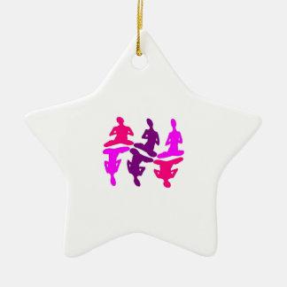 Instinctive Behavior Ceramic Star Ornament