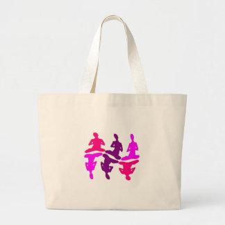 Instinctive Behavior Large Tote Bag