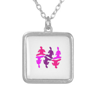 Instinctive Behavior Silver Plated Necklace