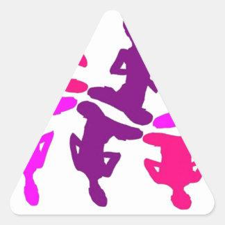 Instinctive Behavior Triangle Sticker