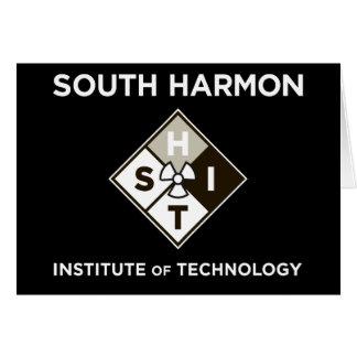 Institut de Technologie du sud de Harmon - admis Carte De Vœux