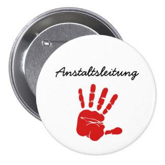 Institute line 3 inch round button