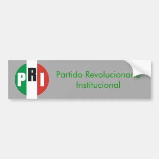 Institutional Revolutionary Party Bumper Sticker
