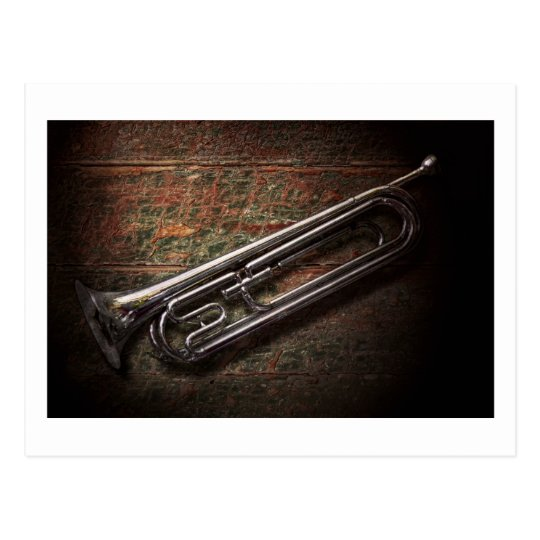 Instrument - Horn - The bugle Postcard