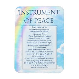 Instrument of Peace Rectangular Photo Magnet