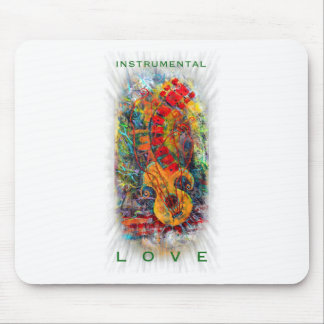 Instrumental Love Design #8 Mouse Pad