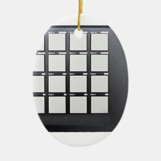 Instrumentals MPC Ceramic Oval Ornament