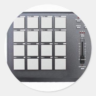 Instrumentals MPC Classic Round Sticker