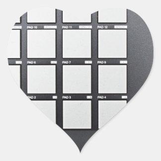 Instrumentals MPC Heart Sticker