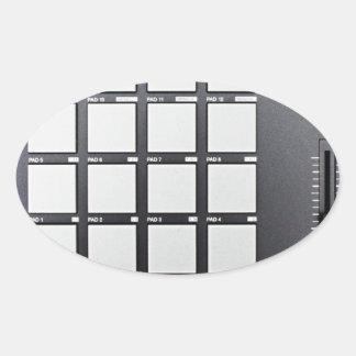 Instrumentals MPC Oval Sticker