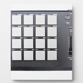Instrumentals MPC Plaque