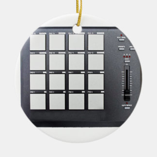 Instrumentals MPC Round Ceramic Ornament