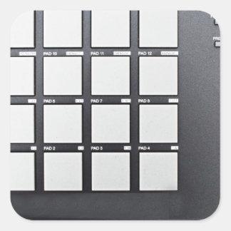Instrumentals MPC Square Sticker