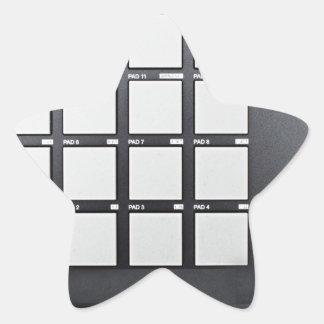 Instrumentals MPC Star Sticker