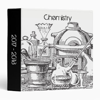 Instruments for Chemistry 3 Ring Binders