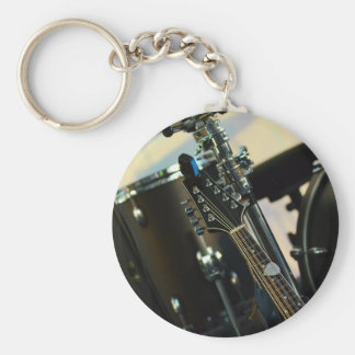 Instruments Music Drums Guitar Musical Instrument Keychain