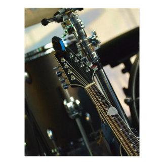 Instruments Music Drums Guitar Musical Instrument Letterhead