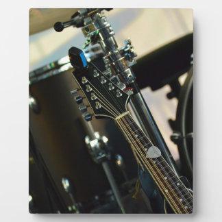 Instruments Music Drums Guitar Musical Instrument Plaque