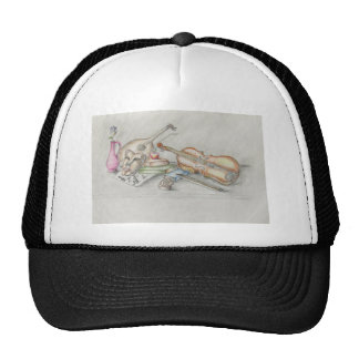 Instruments music trucker hat