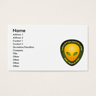Insulation Installers Are People Too Business Card