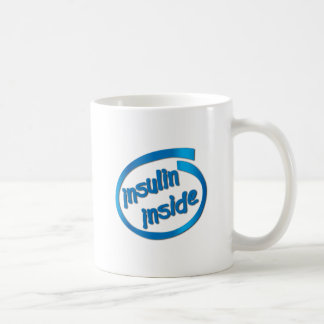 Insulin Inside Classic White Coffee Mug
