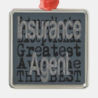 Insurance Agent Extraordinaire Metal Ornament