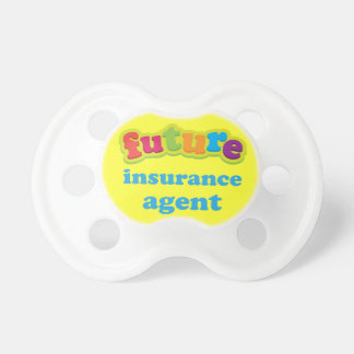 Insurance Agent (Future) Pacifier Gift