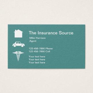 Insurance Broker Business Card