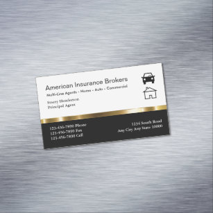 Insurance Agent Business Cards - Business Card Printing ...