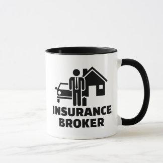 Insurance broker mug