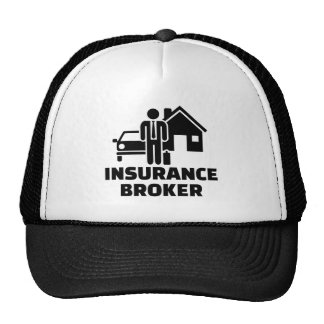 Insurance broker trucker hat