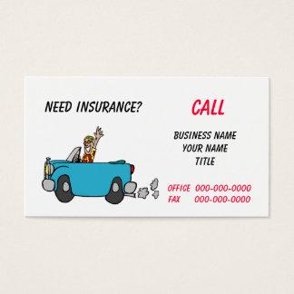 Insurance/Mechanic Business Card