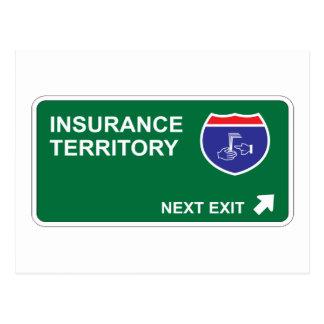 Insurance Next Exit Postcard