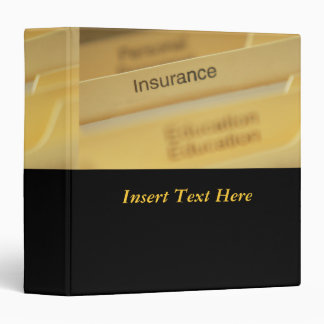Insurance Policies Avery Binder