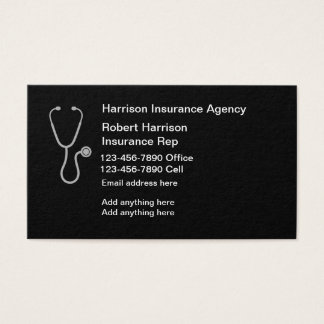 Insurance Rep Contact Cards
