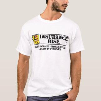 Insurance Risk - Skulls Crack - Bones Break T-Shirt