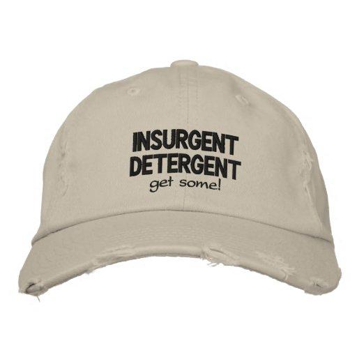 Insurgent Detergent Embroidered Baseball Caps