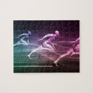 Integrated Solutions and High Performance Speed Jigsaw Puzzle