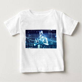 Integrated Technologies on a Global Level Concept Baby T-Shirt