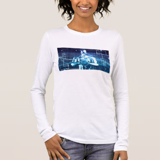 Integrated Technologies on a Global Level Concept Long Sleeve T-Shirt