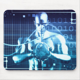 Integrated Technologies on a Global Level Concept Mouse Pad