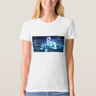 Integrated Technologies on a Global Level Concept T-Shirt
