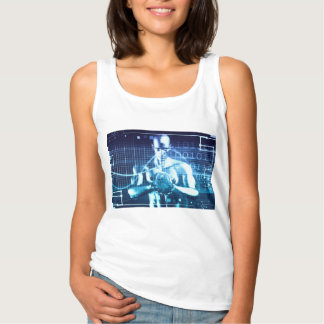 Integrated Technologies on a Global Level Concept Tank Top