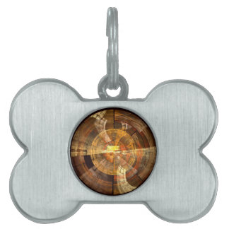 Integrity Abstract Art Pet Tag