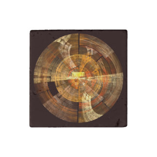 Integrity Abstract Art Stone Magnets