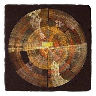Integrity Abstract Art Stone Trivet