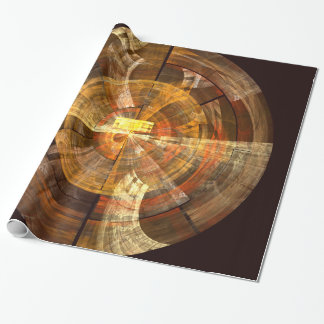 Integrity Abstract Art Wrapping Paper